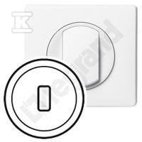 Plakietka gniazda USB biały Celiane