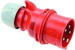 Wtyczka przenośna Shark - zwrotnica faz32A 400V 3P+Z+N IP44