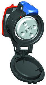 Urządzenia wtyczkowe EX, przeciwwybuchowe część prądowa - gniazdo - 230V, 63A, 3P IP66/67