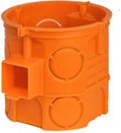 Puszka podtynkowa, głęboka, pomarańczowa, łączona S60DF
