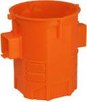 Puszka podtynkowa, bardzo głęboka, pomarańczowa, łączona S60GF
