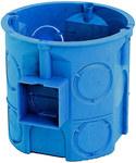 Puszka podtynkowa, głęboka, niebieska, łączona S 60D