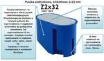 Puszka podtynkowa, kinkietowa Z 2x32 - 34011203