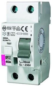 Wyłącznik różnicowoprądowy EFI-2 AC 40/0.03