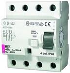 Wyłącznik różnicowoprądowy EFI-4 A 25/0.03
