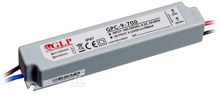 GLP zasilacz LED 700mA/3-12V, GPC