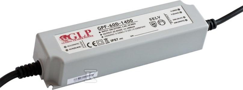 GLP zasilacz LED 700mA/40-80V, GPF