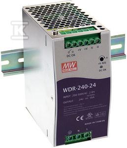 Zasilacz na szynę DIN 240W 24V 10A