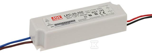 Zasilacz LED 20W 3-48V 0.35A