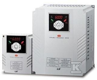 Falownik seria IG5A zaawansowane aplikacje moc 0,4kW zasilanie 1x230VAC