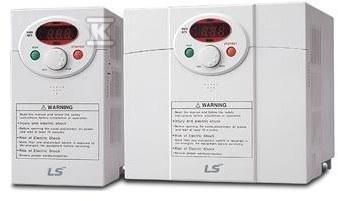 Falownik seria IE5 dla małych maszyn, małe wymiary moc 0,1kW zasilanie 1x230VAC