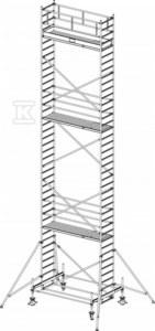Rusztowanie - STABILO 100, 3,0 x 0,75m, wys.rob. 11,40m