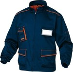 Bluza M6VES rozmiar M granatowo-pomarańczowa