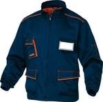 Bluza M6VES rozmiar S granatowo-pomarańczowa