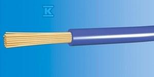 Przewód instalacyjny giętki LGY 2,5 500V niebieski linka /100m/