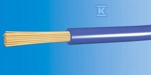 Przewód instalacyjny giętki LGY 2,5 750V niebieski linka (H07V-K) /100m/