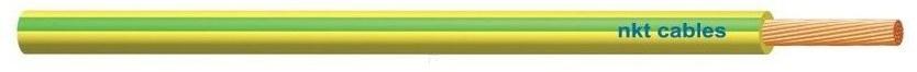 Przewód instalacyjny giętki LGY 2,5 500V żółto-zielony linka /100m/