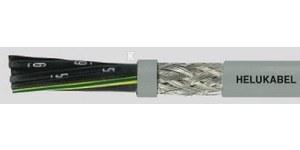 Kabel elastyczny F-CY-OZ 2X0,75 QMM 300/500V żyły czarne numerowane, ekranowany /500m/