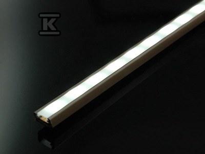Profil PCV LED kolor wenge /1m/