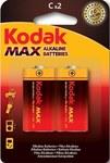 Bateria alkaliczna KODAK MAX KC-2 (LR14), blister=2 szt
