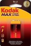 Bateria alkaliczna KODAK MAX K9V (LR9), blister=1 szt