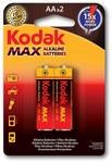 Bateria alkaliczna KODAK MAX KAA-2 (LR6), blister=2 szt