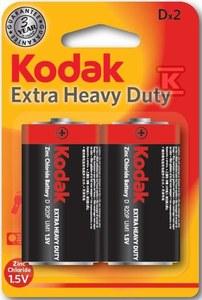 Bateria cynkowo-węglowa KODAK KDHZ-2 (R20), blister=2 szt