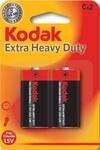 Bateria cynkowo-węglowa KODAK KCHZ-2 (R14), blister=2 szt