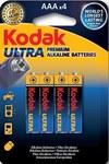 Bateria alkaliczna KODAK Ultra Premium K3A-4 LR3, blister=4 szt