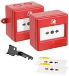 Ostrzegacz pożarowy, 1przemienny, IP66. Element systemu pożarowego (P.POŻ). CXM/CO/G/R/WP