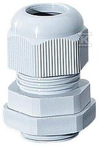 Dławnica skręcana IP 65, M 16, średnica kabla: 5-10 mm, do instal. zewnętrznych, szara