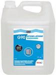 Płyn do czyszczenia wewnętrznych elementów systemów wentylacyjnych i klimatyzacyjnych takich jak kratki, nawiewy, obudowy plastikowe G90 Nettoyant surface 5L