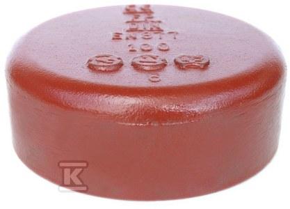 Korek żeliwny (pokrywa zamykająca) SML 75, (żeliwo szare bezkielichowe)