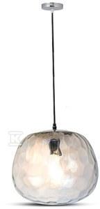 Lampa wisząca VT-7254 szklany klosz
