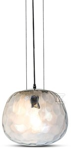 Lampa wisząca VT-7306 szklany klosz