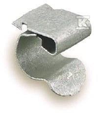 Zacisk 47SC1924 element prowadzenia oraz łaczenia kabli i przewodów grubość półki: 4-7 mm średnica rurki 19-24mm