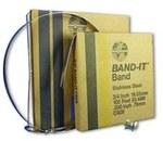 Taśma stalowa nierdzewna Band It Standard szerokość 19,0 C926 (30,5m)