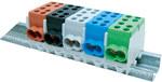 Zacisk przewodu głównego Hlak 25 1/2 niebieski 2x16mm2/2x25mm2