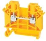 Złączka przelotowa ZUG-4 żółta