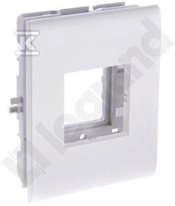 Uchwyt pojedyńczy (1X45mm) do pokrywy o szerokości 110
