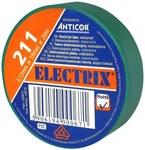 Taśma ELECTRIX 211 19 mm 20 m zielona