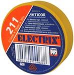 Taśma ELECTRIX 211 19 mm 20 m żółta