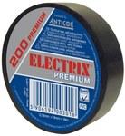 Taśma Electrix 200 Premium, kolor czarny 19MMX18M.