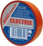 Taśma Electrix 200 Premium, kolor czerwony 19MMX18M