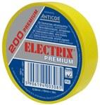 Taśma Electrix 200 Premium, kolor żółty 19MMX18M