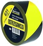 Taśma ostrzegawcza żółto-czarna 631 50mmx33m