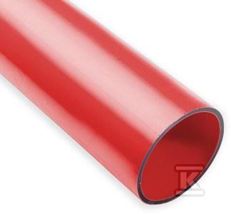 Rura gładkościenna przepustowa warstwowa w odcinkach średnica 160mm QRGPw 160/9,1 czerwona długość 12M /12m/