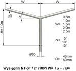 Wysięgnik NT ST 2 ram 1,5 m