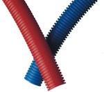 Rura osłonowa karbowana (PESZEL) niebieska RIL 23-28mm 320N /50m/