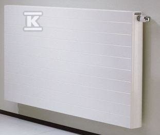 Grzejnik dekoracyjny Faro H33 H=400 L=1950, 3479W, podłączenie z lewej strony, biały RAL9016